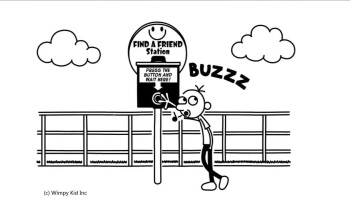 Diary Of A Wimpy Kid Old School Saved You A Spot