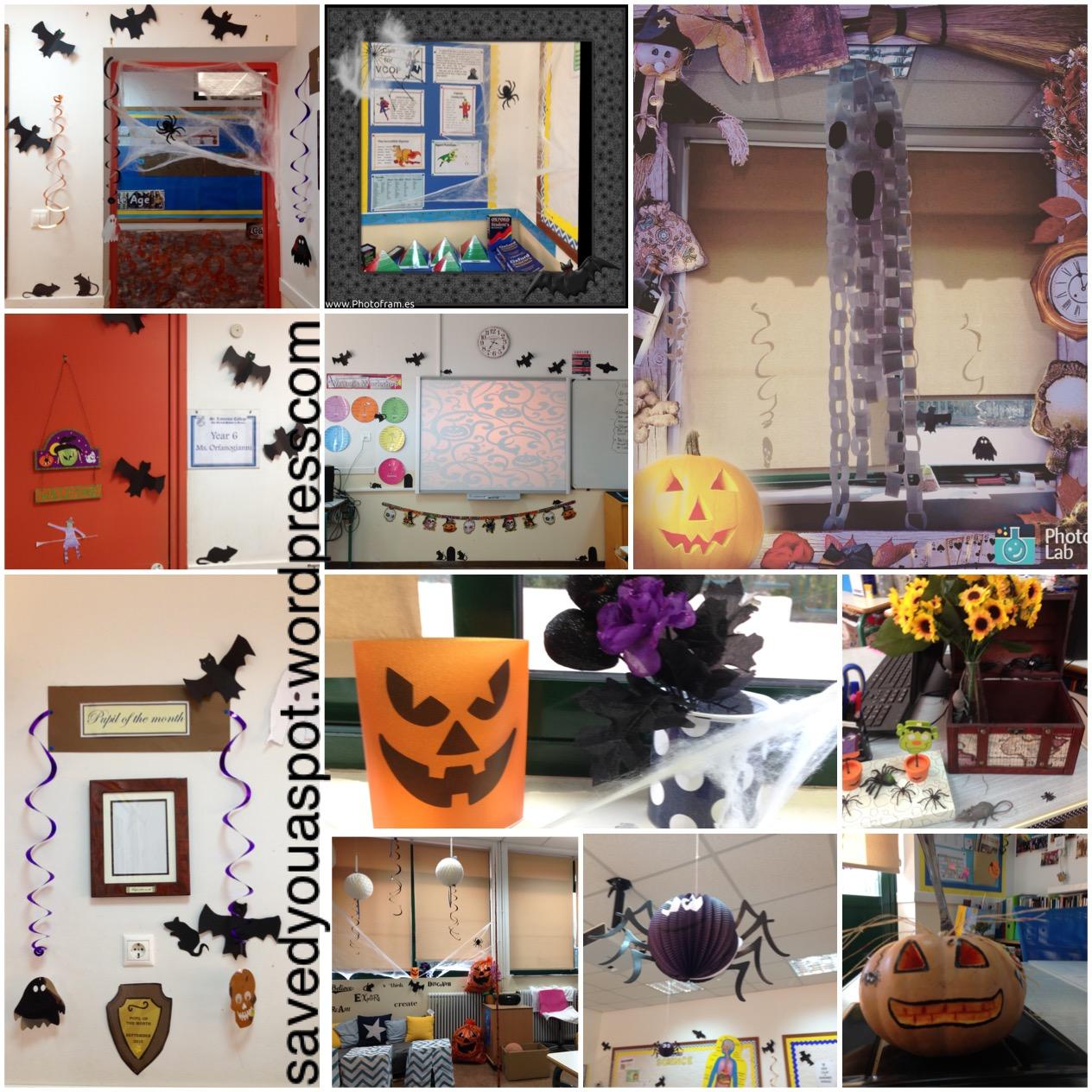 Halloween Classroom Decor - Saved you a Spot