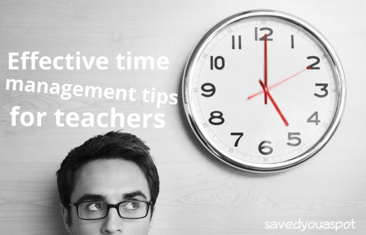 Effective time management tips for teachers