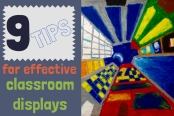 9 tips for effective classroom displays