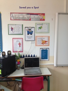 Writer's Workshop Area