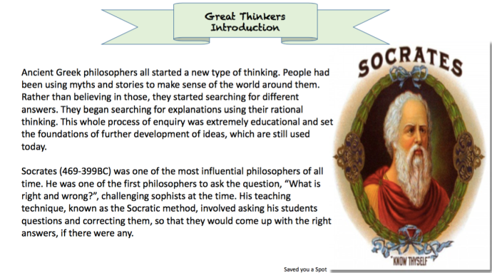 Introduction to Ancient Greek Philosophers
