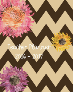 Retro Chic Teacher Planner 2016-2017