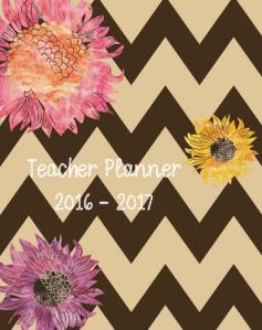 Retro Chic Teacher Planner 2016-2017