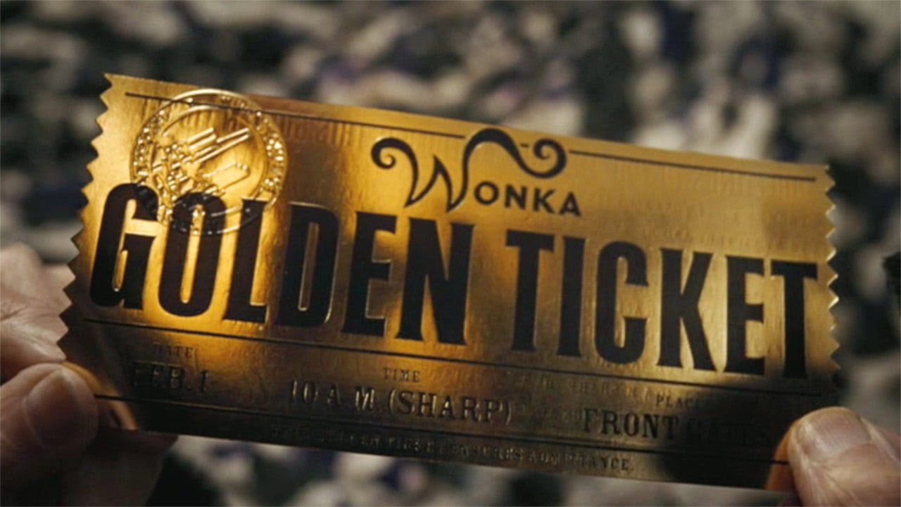charlie and the chocolate factory roald dahl saved you a spot golden ticket