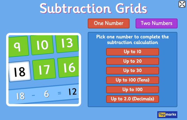 subtractiongrids