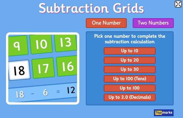 subtractiongrids