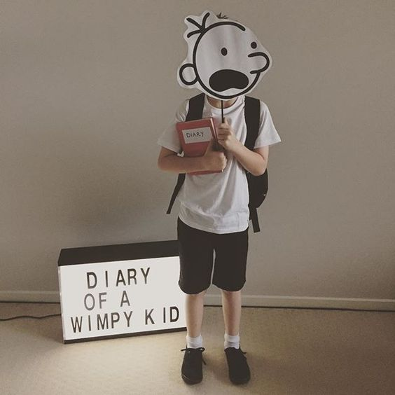 Diary Wimpy Actor 2017: Ideas For Dressing Up As A Book Character